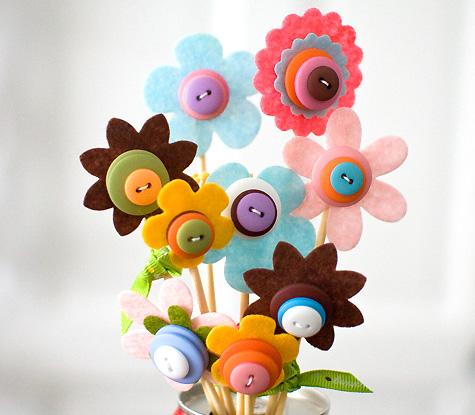 gombvirágok