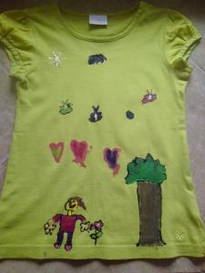Mirus kész pólója