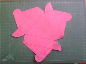 Háromszöges szabásminta